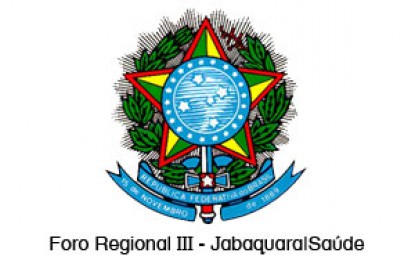 Foro Regional III – Jabaquara   Saúde