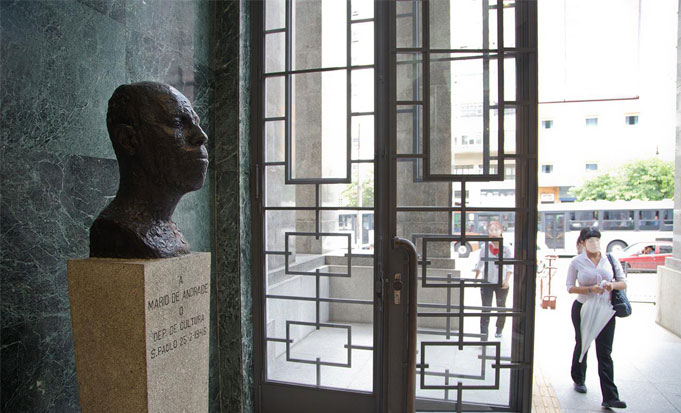 Busto de Mario de Andrade
