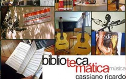 Biblioteca Cassiano Ricardo – Temática em Música