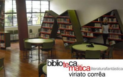 Biblioteca Viriato Côrrea – Temática em Literatura Fantástica